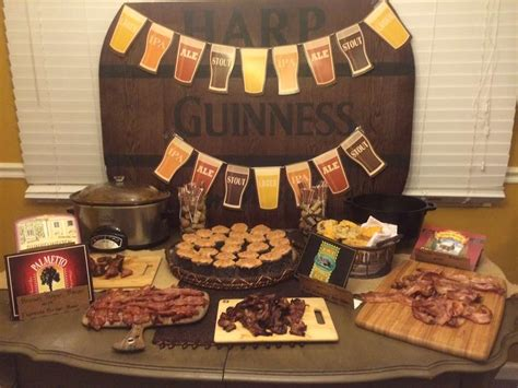 Beer & Bacon Birthday Party Ideas  Photo 1 Of 10 Catch