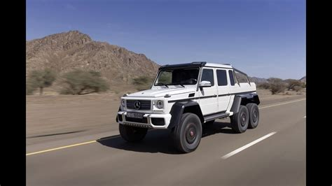 Six Wheel Drive Mercedes-benz G63 Amg Suv 6x6