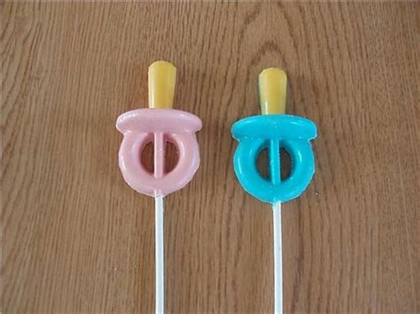 Baby Pacifier Chocolate Lollipops Baby Shower Favors