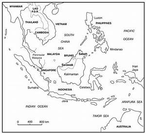 6 Best Images of Black And White Printable Map Of Asia ...
