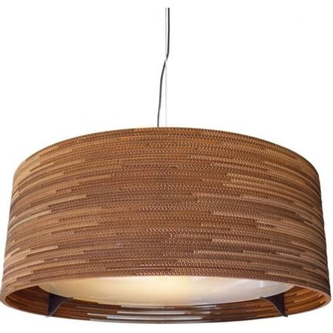 large diameter ceiling pendant light made from recycled