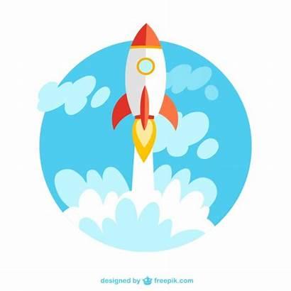 Rocket Launch Vector Clipart Clip Quick Investment