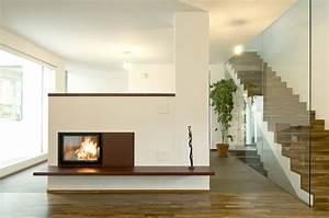Moderner Kachelofen Haus Dekoration