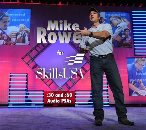 mike rowe  skillsusa public service announcements