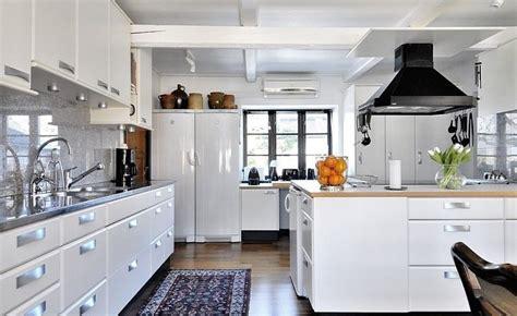 interior design ideas for kitchen modern white kitchen interior design ideas Modern