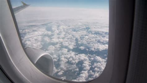Airplane Window Stock Footage Video Shutterstock
