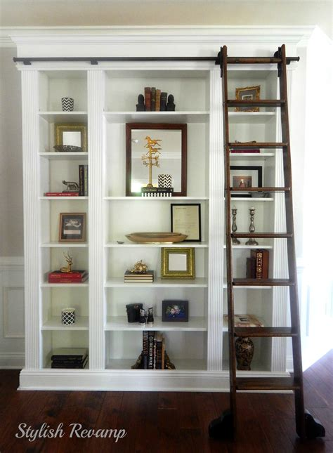 Billy Bookcases by Changing Paint Colors From Warm Tones To Cool Tones
