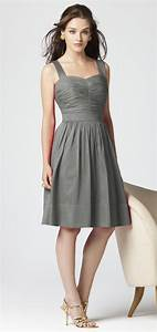 Charcoal dress csmeventscom for Charcoal dresses for weddings