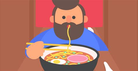animation cuisine animation artist documents his month in with