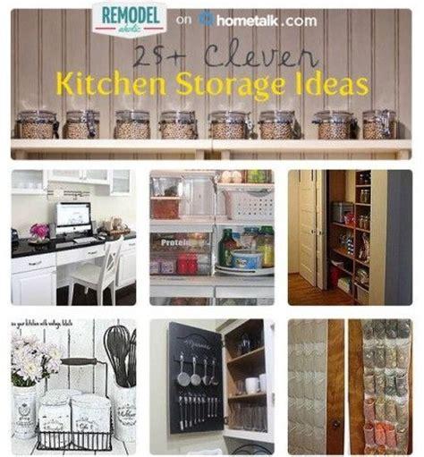 Clever Kitchen Ideas by 25 Clever Kitchen Storage Ideas