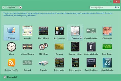 Comment Restaurer Des Gadgets Dans Windows 81