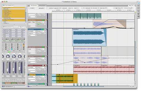 audio desk recording software motu com audiodesk overview