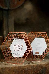 1000 ideas about event invitations on pinterest With geometric laser cut wedding invitations