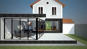 photos agrandissement maison avec prix extension maison With prix extension maison 40m2