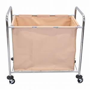 Luxor Furniture HL14 Heavy Duty Laundry Cart w/ Removable ...