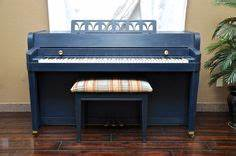 Piano Revival ( Blue ) on Pinterest | Piano, Upcycle and ...