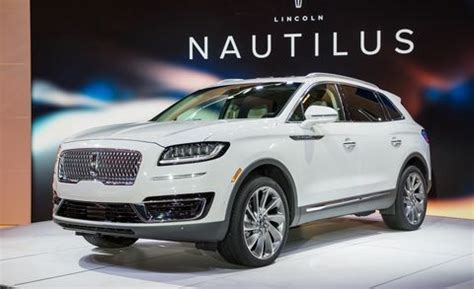 lincoln nautilus suv replaces  mkx news car