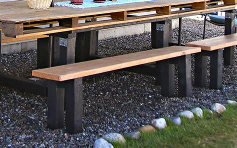 Easy Patio Diy by Easy Diy Benches Outdoor Furniture Kleinworth Co