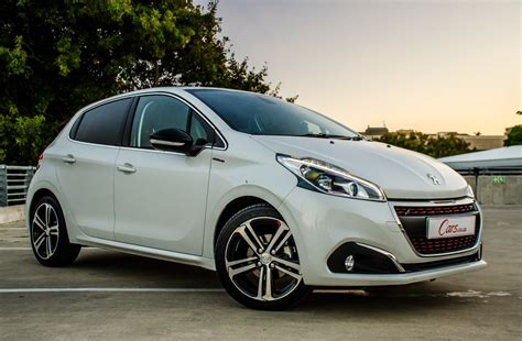 peugeot company car peugeot 208 gt line 2016 review cars co za