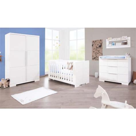 soldes chambre bebe complete chambre bébé polar laqué blanc mat achat vente