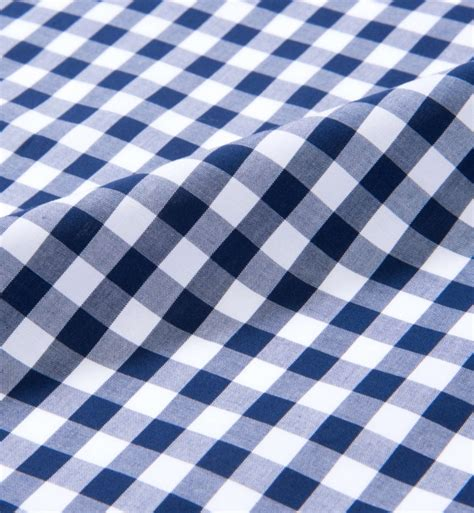 navy blue large gingham shirts by proper cloth