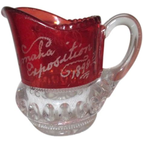 omaha exposition small pitcher  wonderful