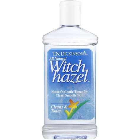 witch hazel image t n dickinsons toners witch hazel 240ml woolworths