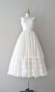 Lace 1950s dress vintage 50s wedding dress you send me for Vintage 50s wedding dresses