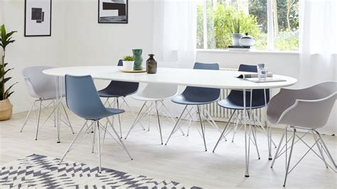 oval extending dining table sale modern white satin oval extending dining table 6 10 seater