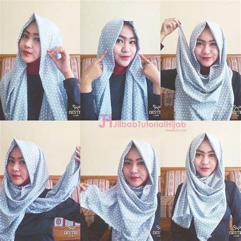 tutorial style hijab pashmina simple jilbab tutorial hijab
