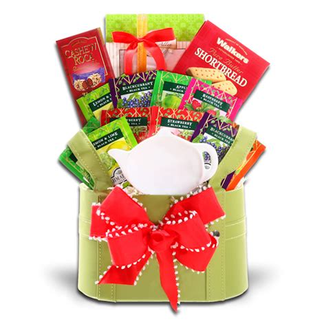 holiday tea time gift all about gifts baskets