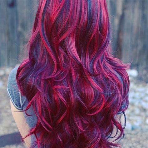 Burgundy Hairstyles by 20 Burgundy Hair Color Ideas Hairstyles Shades Of 2018