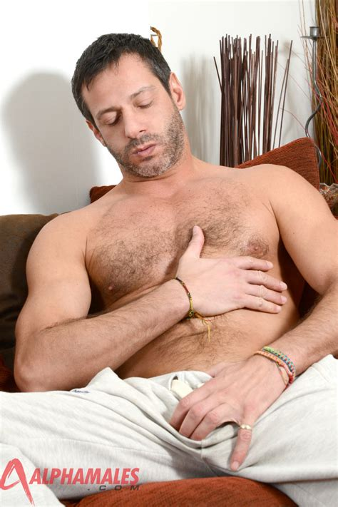 Hairy Amateur Italian Strokes His 8″ Uncut Cock And