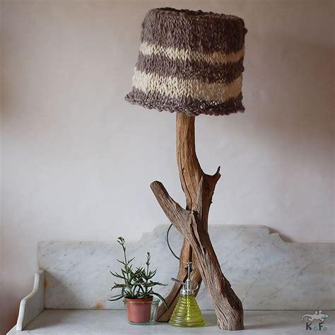 À partir de 29 € 2. Lampe nature et abat-jour en tricot   Lamp, Abat jour