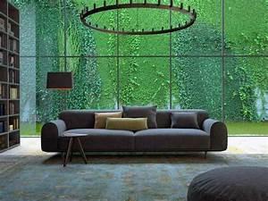 Wandfarbe Zu Grauem Sofa : wohnzimmer mit gr n einrichten ~ Bigdaddyawards.com Haus und Dekorationen
