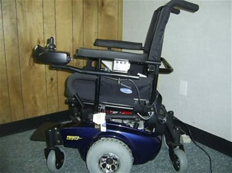 Pronto Power Chair M71 by Pronto M71 Electric Wheel Chair With Surestep