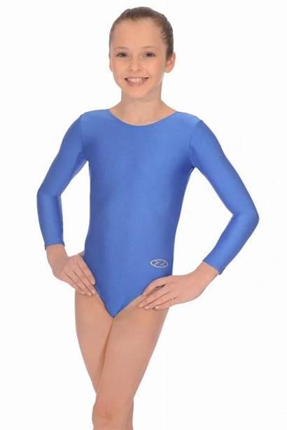 Leotard Lycra Nylon Gymnastics Leotards Rhapsody Sleeved