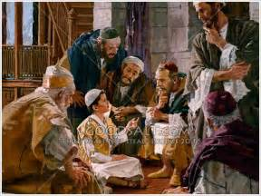 Jesus Teaching in the Temple as a Boy