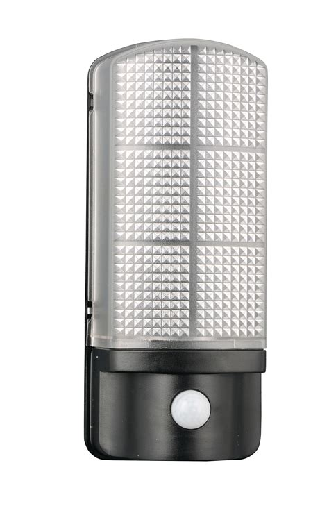 epping led exterior wall light with day night photocell