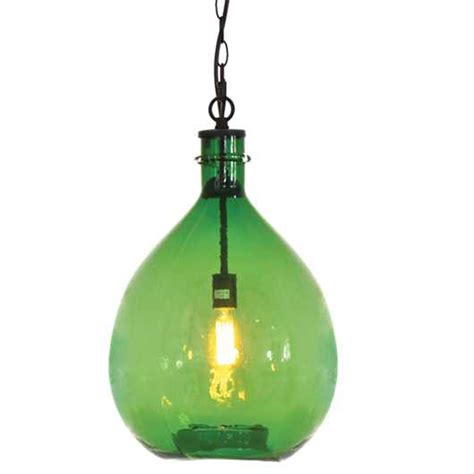 oversized glass pendant l da4690
