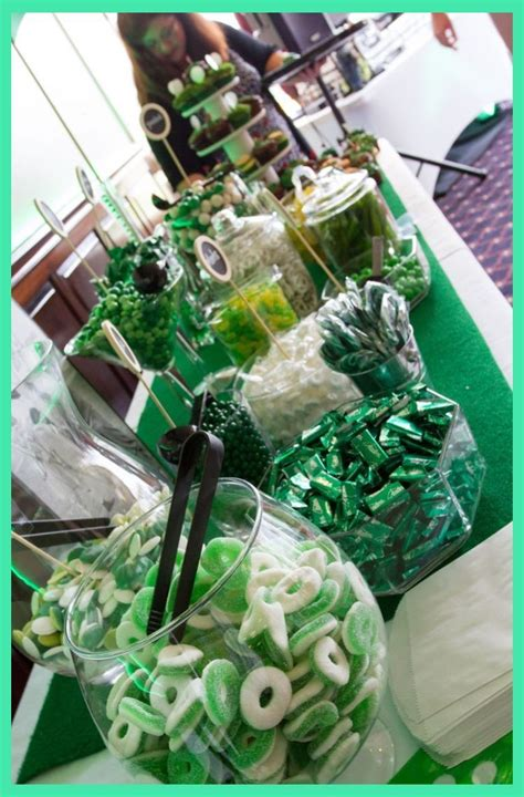 There are several ways to go here, including making that golf tournament or 5k run for the charitable cause or causes that hit home for the guest of honor. Golf themed candy buffet.   Golf Themed Retirement Party   Golf Party Decorations   Golf Them ...