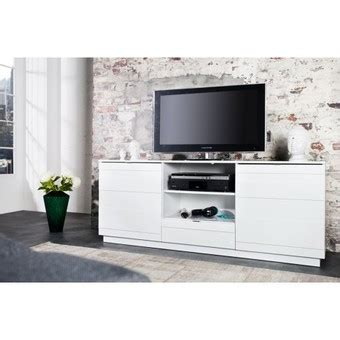 meuble tele haut meuble tele haut meuble tv blanc laqu 233 140 cm trendsetter