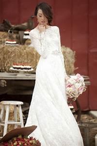 Robe Mariage Dentelle : robe de mariage civil en 60 images tendances 2016 2017 ~ Mglfilm.com Idées de Décoration