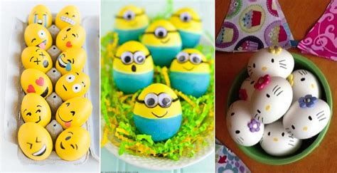 Decorating Ideas For Easter Eggs 20 easter egg decorating ideas home design garden