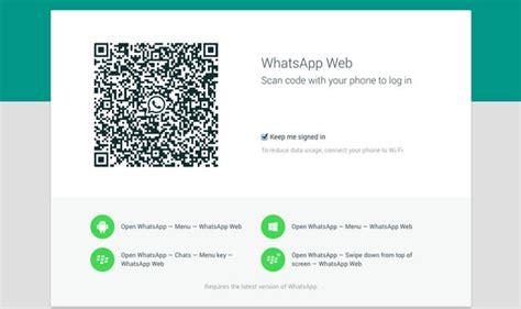 Whatsapp Mobile Site Whatsapp Web Aplicativo Ganhou Sua Vers 227 O Para Desktop