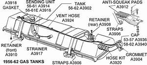 56-62 Gas Tank - Diagram View