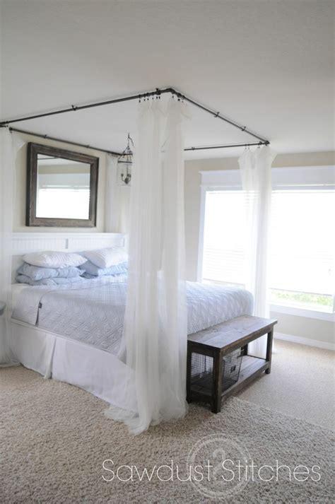 omg      diy bed diy canopy