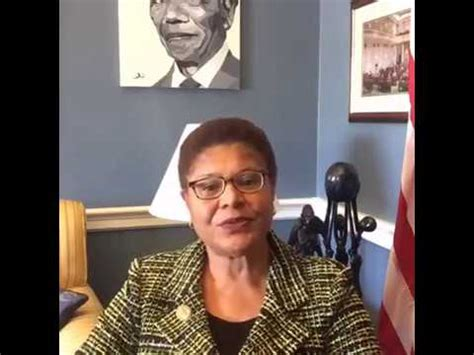 Rep. Karen Bass LIVE on Trump's