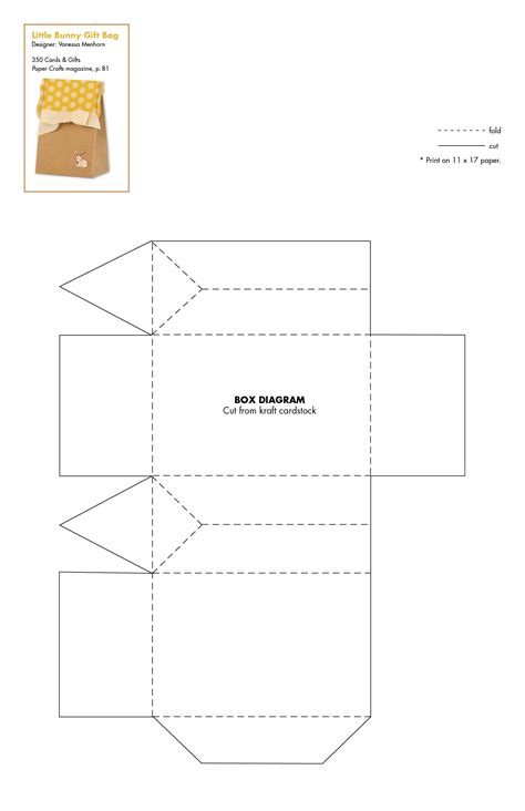 bag template 350 cards gifts patterns 350 cards gifts paper crafts