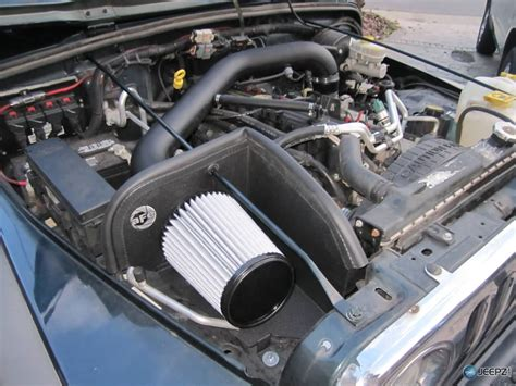 Install Cold Air Intake Jeep Wrangler